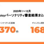 声のインフルエンサーの活躍で応募が急増!2020年 Voicyパーソナリティ審査結果まとめ